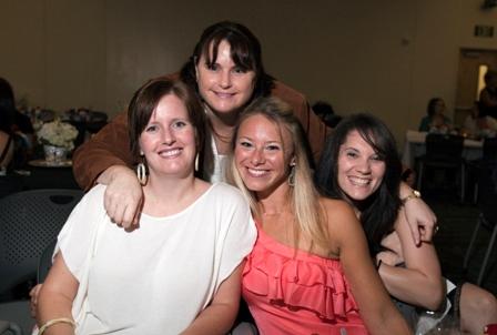 Tiffany Roberts, Bev Orozco, Lindsay Ferrara and Chiquitha Crews.