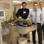 Dr. Luiz Bolfer, Dr. Carsten Bandt and Dr. Gareth Buckley