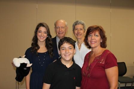 Dr. Nicoletti's family