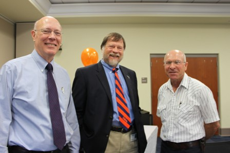 Dr. John Dame, Dr. John Harvey and Dr. Owen Rae.
