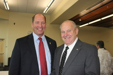 Congressman Ted Yoho and governmental affairs consultant Dr. Juhan Mixon.