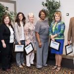 Superior Accomplishment Award winners.