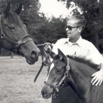 Asbury with horses in 1981/