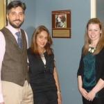 Drs. Anthony Douglas and Monisha Seth with Dr. Ashley Jones