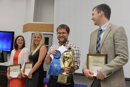 Graduate student Best in Show presenters
