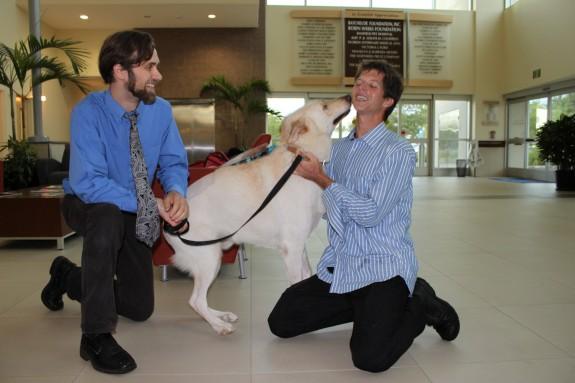 Darwin and Efram Goldberg