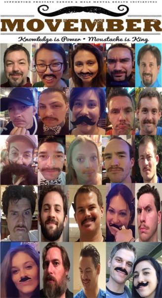 Movember Montage 2015