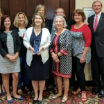 AAVMC Excellence in Communications Award was presented to Sarah Carey on July 22 in Indianapolis.