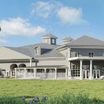 Architect's rendering of the new UF Veterinary Hospital at WEC