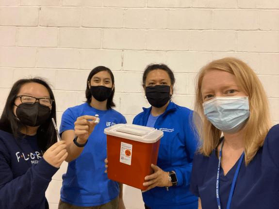 Volunteers from UF Health